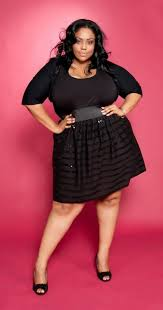Bbw big dress fashion woman