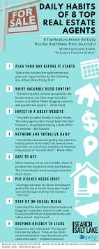 Daily Habits Of 8 Top Real Estate Agents Real Estate