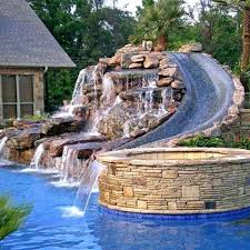home pools with waterslides.  Pools Pool Water Slides For Home Our Dream Decor Pools  House   And Home Pools With Waterslides E
