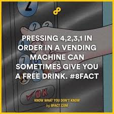 Secret Vending Machine Code