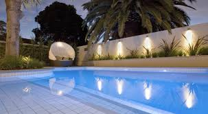 swimming pool lighting options outdoor pool lighting ideas 8646418 orig design led bring your garden