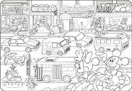 のりものだいすき ディズニー ぬりえチャイルドパズル 40ピース Dcn40