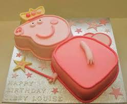 Peppa Pig Cake Eggless