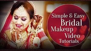 bridal makeup for dusky indian skin tone simple easy bridal makeup tutorial for dark skin