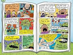 george and harold s hand drawn ic book the adventures of captain underpants