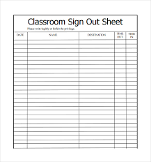 daycare sign in and out sheet free printable sign in and out sheets coles thecolossus co