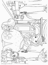 Small Picture Princess Sofia coloring pages