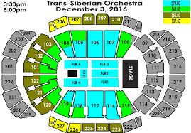Sprint Center Seating Chart Trans Siberian Orchestra Trans Siberian Orchestra Sprint Center