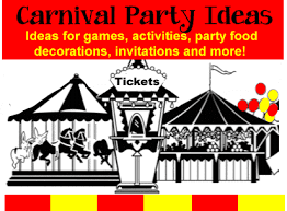 Carnival Birthday Invitations Carnival Party Theme Birthday Party Ideas For Kids