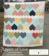 Layers of Love Quilt (Moda Bake Shop) | Layering, Layer cake ... & Layers of Love Quilt (Moda Bake Shop) Adamdwight.com