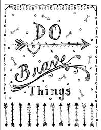 Cute Coloring Pages For Adults With Quotes