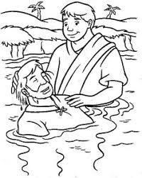 54 Best Jesus Baptised Images In 2019 Sunday School Jesus