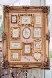 How To Make A Wedding Seating Chart Picture Frame Seating Chart Wedding Www Bedowntowndaytona Com