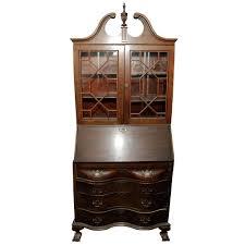 desk chippendale style secretary desk antique secretary desk value antique secretary desk guide painted