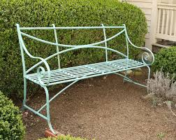 wrought iron outdoor furniture. Modren Outdoor Incredible Wrought Iron Benches Outdoor Garden Pertaining To Bench  Inspirations 3 Furniture With