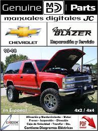 Manual Reparación y Servicio Chevrolet Grand Blazer 93-98 Correo ...