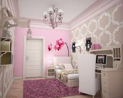 Pink Flower Wallpaper For Bedrooms Bedroom Country