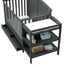 storkcraft change table 4 in 1 convertible crib and changer