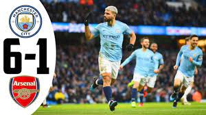 Manchester City Vs Arsenal (6-1) All Goals & Highlights 2020 - YouTube