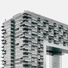 office facade. pandion vista office and living building cologne facade design rieder