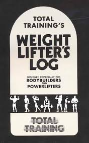 weight training log book weight lifting training log