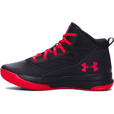 under armour shoes black. under armour boys\u0026rsquo; grade school jet mid basketball shoes - black under armour black