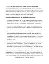 student example of a rogerian argument outline school shooting gun control advanced