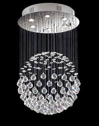 description this contemporary design draws on the traditional crystal chandelier theme chrome finish base reflects the prisms of light bouncing off the