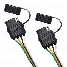 trailer splitter 2 way 4 pin y split wiring harness adapter for 8 trailer splitter 2 way 4 pin y split wiring harness adapter for led tailgate