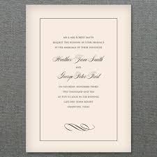 Basic Invitation Template Elegant Diy Wedding Invitation Styled 3 Ways