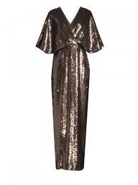 Gowns Aidan Mattox Bronzed Sequin Gown Hey Girl