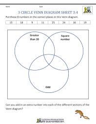 venn diagram maths worksheet 8 venn diagram worksheets 3rd grade venn diagram math worksheet