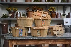 vintage wooden produce basket