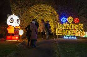Snug Harbor Light Festival Winter Lantern Festival In New York