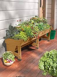Kitchen Garden Trough Trough Vegtrug 18x72 Raised Planter Bed Gardeners Supply