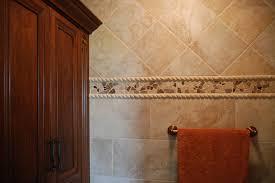 Decorative Tile Strips Mosaic Tile Trim Contemporary Bathroom Cleveland by 44