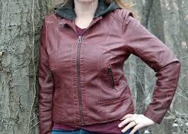 sebby faux leather jacket