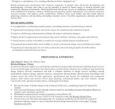 Resume Templates For Kitchen Manager Resume Templates