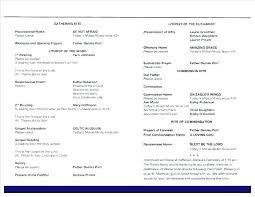 funeral mass program funeral mass program template wedding mass booklet template funeral