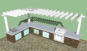 Outdoor Kitchen Design Home Design Ideas Imposing 10 Outdoor Kitchen Designs Plans Free