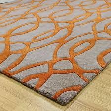 brown orange rug incredible how to set a orange and grey rug on kitchen purple with brown orange rug