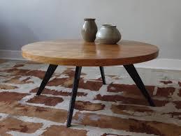 image of danish round coffee table