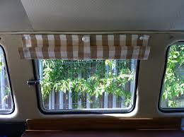 Campervan Design Curtains Camper Poppered Blinds Delilahs Vw Camper Furnishings
