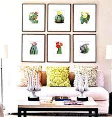 southwest wall hangings southwest wall hangings vintage botanical art print set of 6 flowering cactus orange southwest wall