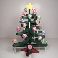 wooden lollipop candy tree holiday by jillianjonesent
