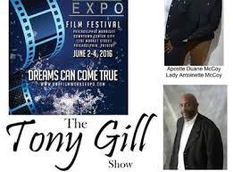 """A SUNDAY SPECIAL GUEST CEO: LADY ANTOINETTE $ DUANE MCCOY """"DNA FILMWORKS""""  PROD. 04/03 by TONY GILL SHOW   Entertainment"""