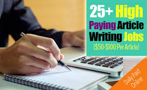 how to get paid to write articles online sites pay per article 25 high paying websites that pay 50 per article writing