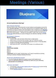 Bluejeans Launch Announcement Template Bluejeans Support