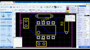 Pcb Layout Design Online Easyeda Free Online Schematic Pcb Design Software How To Make A Pcb