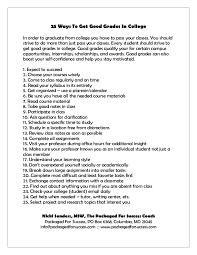 How To Make Good Grades How To Make Good Grades In College Barca Fontanacountryinn Com